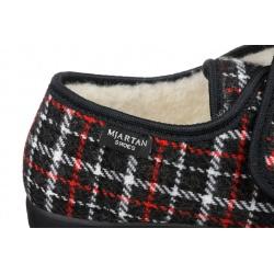 Pantofi de casa, imblaniti cu lana 100%, pentru femei, Mjartan 851-K40