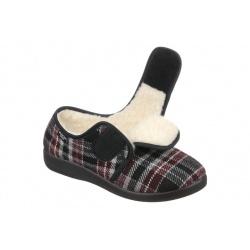 Pantofi de casa, imblaniti, pentru femei, Mjartan 851-K78 reglabili cu arici