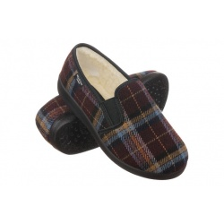 Pantofi de casa imblaniti Mjartan 823K34 femei carouri