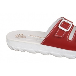 Papuci ortopedici Mjartan 2205-P06 rosii suport plantar