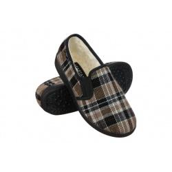Pantofi de casa imblaniti Mjartan 823K85 carouri