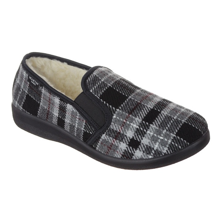 Pantofi de casa imblaniti, barbatesti, Mjartan 824K93