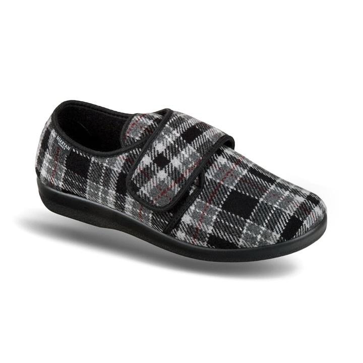 Pantofi de casa, barbatesti, Mjartan 652-K93 carouri
