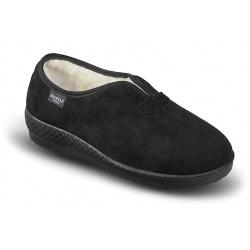 Pantofi de casa imblaniti Mjartan 821-T44 femei negri