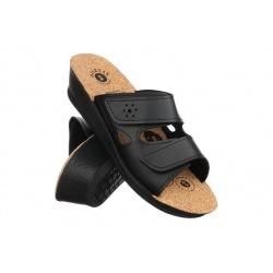 Papuci ortopedici femei 2814 P02K negri