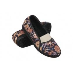 Pantofi ortopedici Mjartan 6087-L73B floricele calapod lat