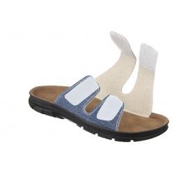 Papuci ortopedici barbati Mjartan 3004-T31 reglabili cu arici