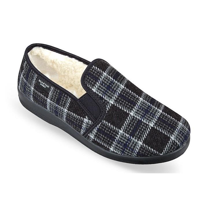 Pantofi de casa, barbatesti, imblaniti Mjartan 824-K10
