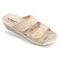 Papuci ortopedici, pentru Hallux Valgus, bej, Mjartan 2817-N13-N08 brant gel