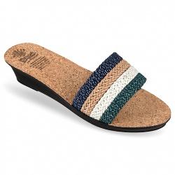 Papuci femei Mjartan 2501 Z06K talpa pluta naturala