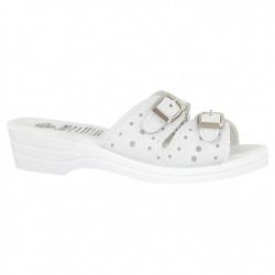 Papuci de vara dama 9017-P03 albi