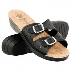 Papuci de vara femei Mjartan 9017-P02 negri
