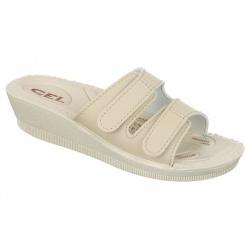 Papuci ortopedici bej Mjartan 2810-P15-P01 brant gel