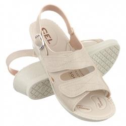 Sandale ortopedice, bej, Mjartan 2815-N13-N08 brant gel pentru Hallux Valgus