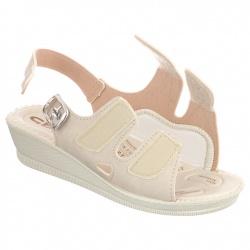Sandale ortopedice, bej, Mjartan 2815-N13-N08 reglabile cu arici