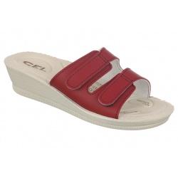 Papuci ortopedici rosii Mjartan 2810-P06 brant gel