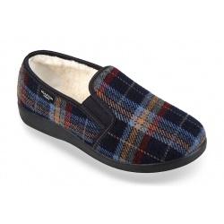 Pantofi de casa imblaniti Mjartan 823-K01 pentru femei, barbati