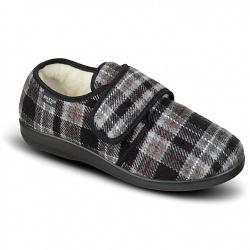 Pantofi de casa, imblaniti, 100% lana, barbatesti, Mjartan 852-K93
