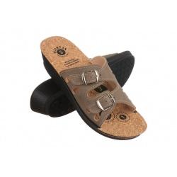 Papuci de vara dama Mjartan 2802-N14K maro