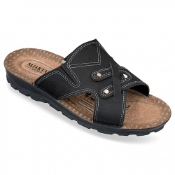 Papuci ortopedici, pentru barbati, Mjartan 2917-N18 brant soft