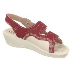sandale pentru monturi Hallux Valgus ortopedice dama Mjartan 2815-N16 bordo