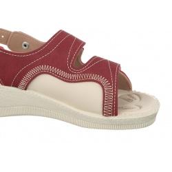 sandale pentru monturi dama Mjartan 2815-N16 bordo