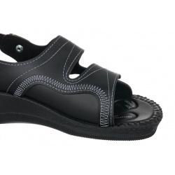 sandale pentru monturi dama Mjartan 2815-P02 negre
