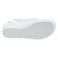 talpa usoara si flexibila sandale ortopedice dama Mjartan 2815-P03 albe