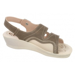 sandale pentru monturi Hallux Valgus ortopedice dama Mjartan 2815-N14 maro