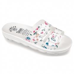 Papuci ortopedici de vara albi dama Mjartan 2205-P418