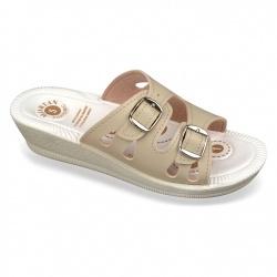 Papuci ortopedici bej, Mjartan 2802-P01 brant gel