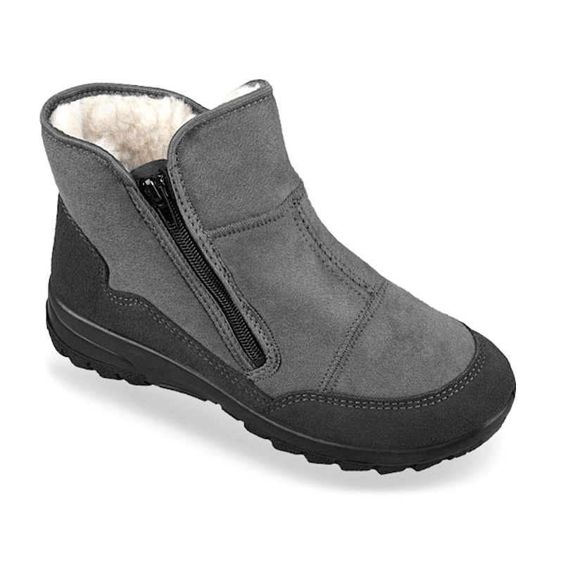 Ghete ortopedice imblanite iarna Mjartan 4501-TS73 100% lana