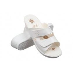 Papuci ortopedici femei Mjartan 2814 P03W albi