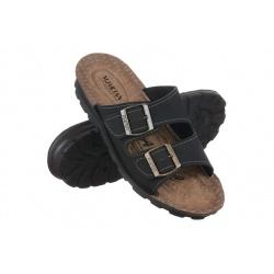 Papuci negri ortopedici Mjartan 2916-N18