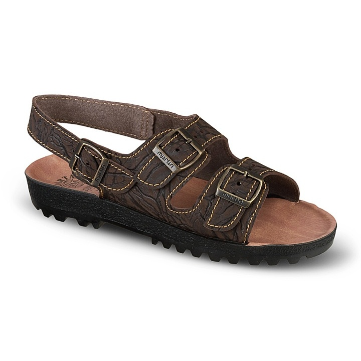 Sandale barbati Mjartan 9008-P07 maro