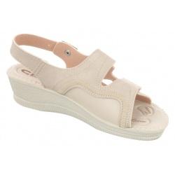 Sandale ortopedice, bej, Mjartan 2815-N13-N08 brant gel