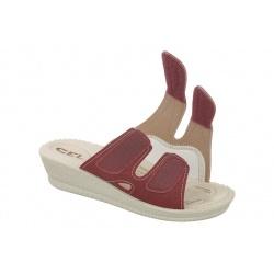 Papuci Mjartan 2817-N16 reglabili cu arici / scai