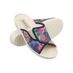 Papuci de casa femei Mjartan 545-LC61-T123 multicolor