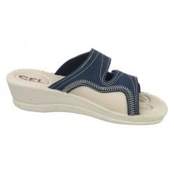 Papuci ortopedici bleumarin 2817-N17-N08 pentru Hallux Valgus - monturi
