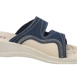 Papuci ortopedici bleumarin 2817-N17-N08 ortopedici pentru femei