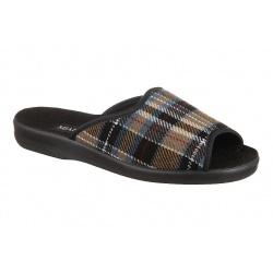 Papuci de casa barbati Mjartan 504-K87 carouri