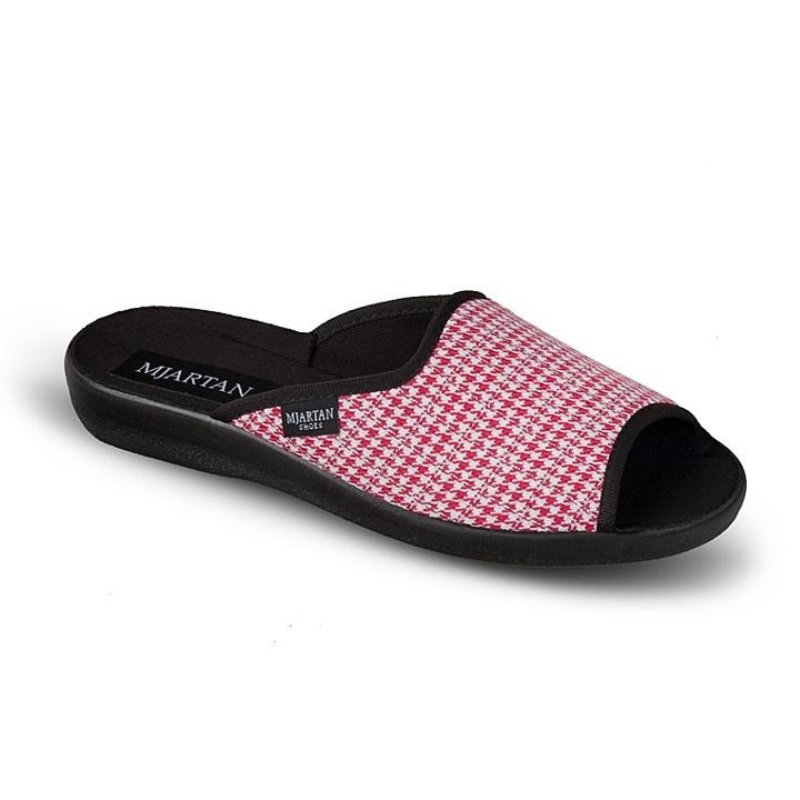 Papuci casa femei Mjartan 503-K64 roz