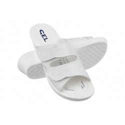Papuci ortopedici, albi, Mjartan 2817-P03-N07reglabili cu arici
