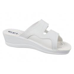 Papuci ortopedici, albi, Mjartan 2817-P03-pentru monturi / Hallux valgus