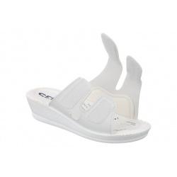 Papuci ortopedici, albi, Mjartan 2817-P03-N07 reglabili