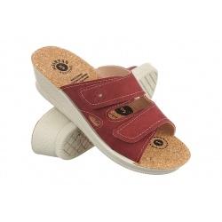 Papuci ortopedici femei 2814 N16K bordo