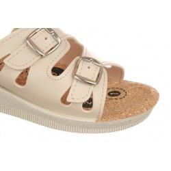 Papuci de vara femi Mjartan 2802-P01K bej