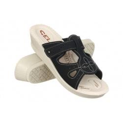 Papuci de vara pentru femei 2818-N18 negri