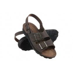 sandale maro barbatesti reglabile Mjartan 2915-N15