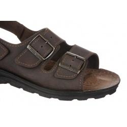sandale maro barbatesti ortopedice Mjartan 2915-N15